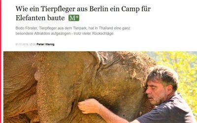 Berliner Morgenpost: Bodo Förster und das Camp in Thailand